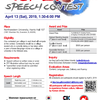 The First Midwest Korean Speech Contest